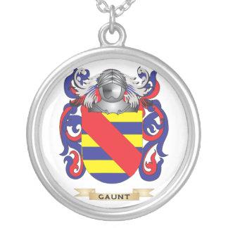 Escudo de armas flaco (escudo de la familia) colgante redondo
