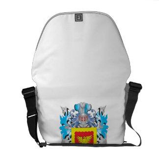 Escudo de armas fuerte - escudo de la familia bolsa de mensajería
