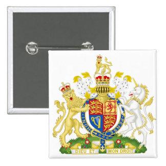 Escudo de armas GB de Reino Unido Pin