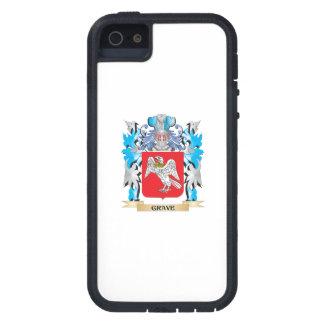 Escudo de armas grave - escudo de la familia iPhone 5 coberturas