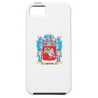 Escudo de armas grave - escudo de la familia iPhone 5 Case-Mate cárcasa