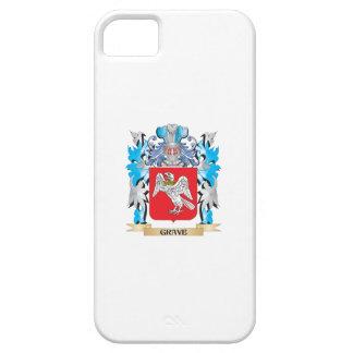 Escudo de armas grave - escudo de la familia iPhone 5 carcasa