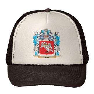 Escudo de armas grave - escudo de la familia gorro de camionero
