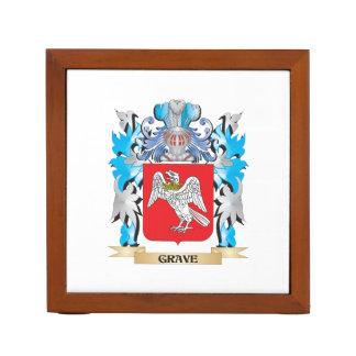 Escudo de armas grave - escudo de la familia