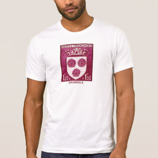 Escudo de armas, Grenoble Francia Remera