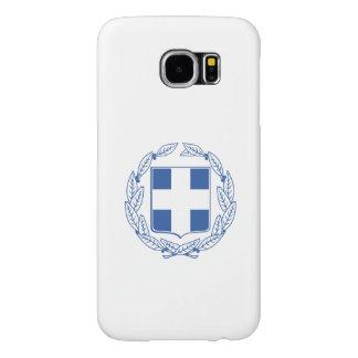 Escudo de armas griego funda samsung galaxy s6