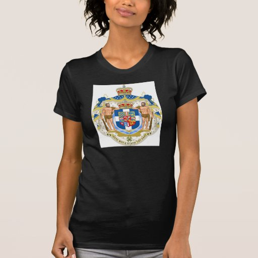 Escudo de armas griego - Grecia Camisetas