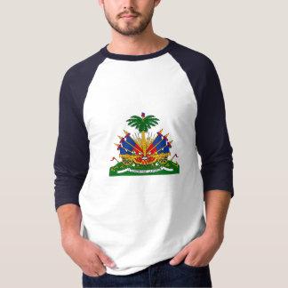 Escudo de armas haitiano playera
