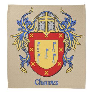 Escudo de armas histórico de Chaves Bandana