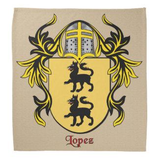 Escudo de armas histórico de López Bandanas