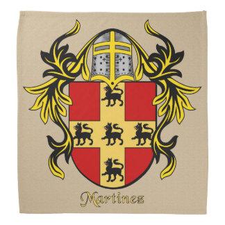 Escudo de armas histórico de Martínez Bandana