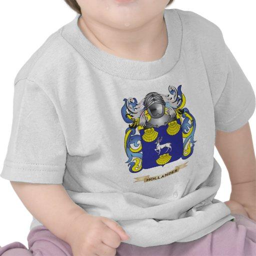 Escudo de armas holandés (escudo de la familia) camisetas
