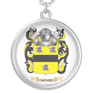 Escudo de armas Howe-Inglés (escudo de la familia) Colgante Redondo