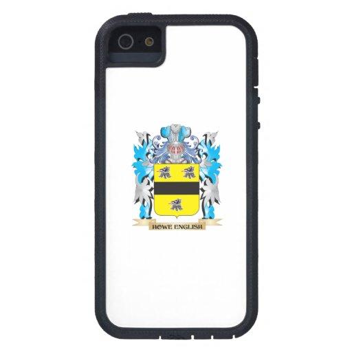 Escudo de armas Howe-Inglés - escudo de la familia iPhone 5 Case-Mate Protectores