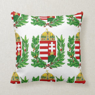 Escudo de armas húngaro cojín decorativo
