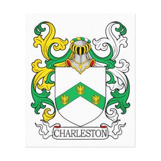 Escudo de armas I de Charleston Impresión En Lona Estirada