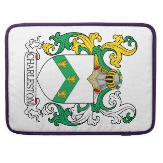 Escudo de armas I de Charleston Fundas Para Macbook Pro