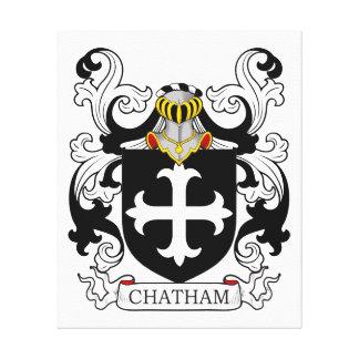Escudo de armas I de Chatham Impresión En Lienzo