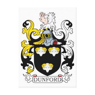 Escudo de armas I de Dunford Impresión En Lona