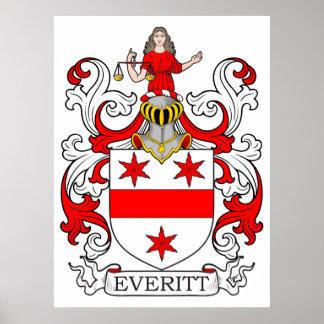 Escudo de armas I de Everitt Póster