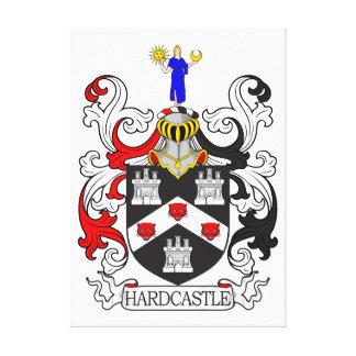 Escudo de armas I de Hardcastle Lona Envuelta Para Galerías