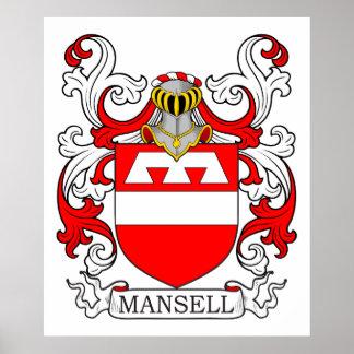 Escudo de armas I de Mansell Póster