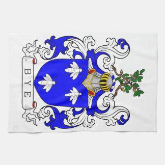 Escudo de armas I del adiós Toallas De Cocina