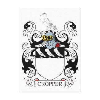 Escudo de armas I del cosechador Lienzo Envuelto Para Galerías
