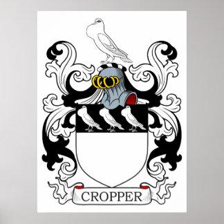 Escudo de armas I del cosechador Posters