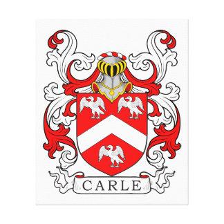 Escudo de armas II de Carle Lona Estirada Galerías