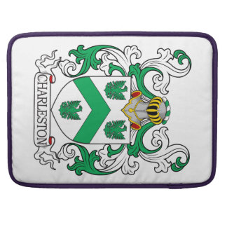 Escudo de armas II de Charleston Fundas Macbook Pro