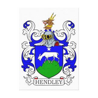 Escudo de armas II de Hendley Impresión En Lona Estirada
