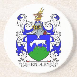 Escudo de armas II de Hendley Posavasos Personalizados