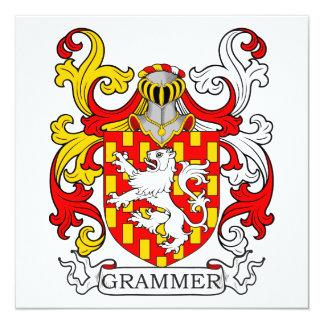 Escudo de armas II de la gramática Invitacion Personalizada