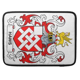 Escudo de armas II de los Haws Funda Para Macbooks