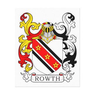 Escudo de armas II de Rowth Lona Envuelta Para Galerias