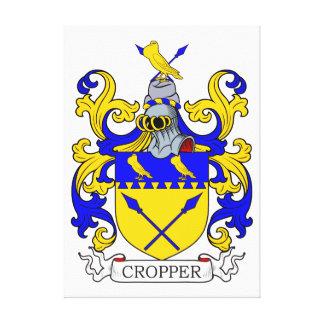 Escudo de armas II del cosechador Lona Envuelta Para Galerias