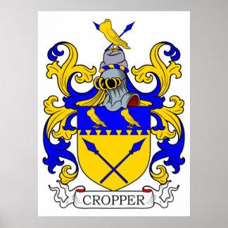 Escudo de armas II del cosechador Posters