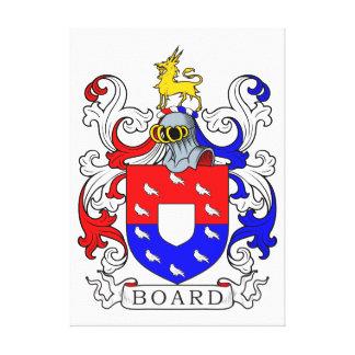 Escudo de armas II del tablero Lienzo Envuelto Para Galerias