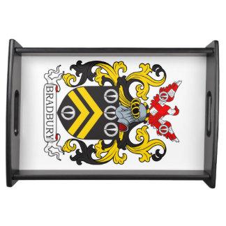 Escudo de armas III de Bradbury Bandeja