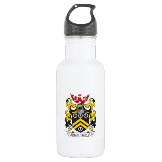 Escudo de armas III de Bradbury Botella De Agua De Acero Inoxidable