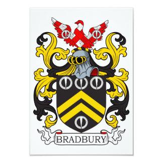 Escudo de armas III de Bradbury Invitación 8,9 X 12,7 Cm