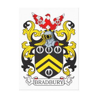 Escudo de armas III de Bradbury Impresión En Lona Estirada