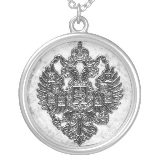 Escudo de armas imperial ruso colgante