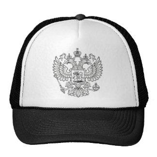 Escudo de armas imperial ruso gorros bordados
