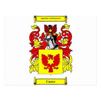 Escudo de armas (inglés) de Custer Postal
