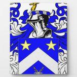 Escudo de armas (inglés) de Edwards Placa De Madera