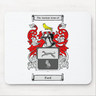 Escudo de armas inglés de Ford Tapete De Raton