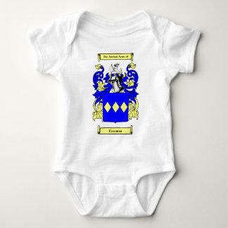 Escudo de armas (inglés) de Freeman Mameluco De Bebé
