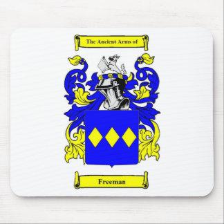 Escudo de armas (inglés) de Freeman Mouse Pads